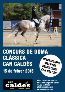 Concurso Doma 15 febrer Can Caldés