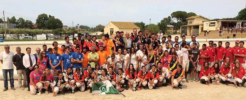 El Malla y CEEC Cardedeu ganan el Campeonato de España de Clubes de Horseball
